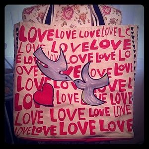 """Brighton """"Love is All You Need"""" Tote"""